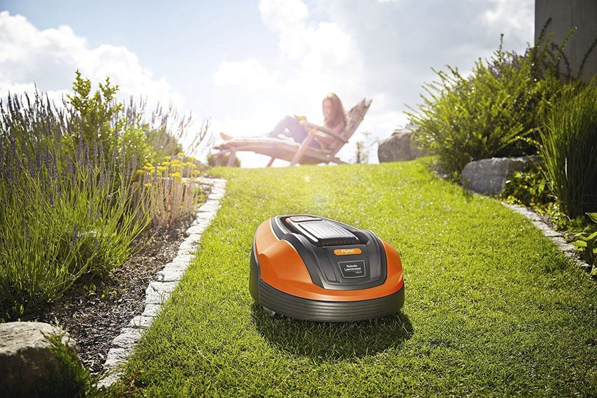 flymo 1200r relax while it works my robot mower