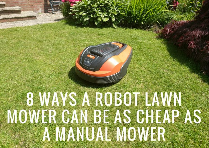 Flymo 1200R Cheap Good Value Robot Lawn Mower