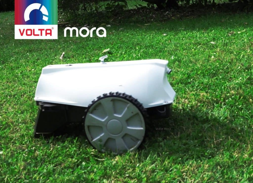 volta mora robot lawnmower